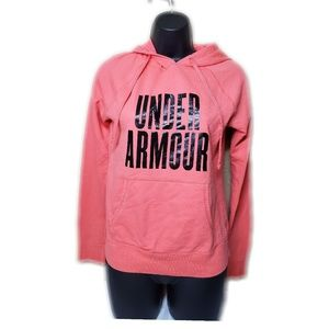 Under Armour Pink Pullover Hoodie Size XS